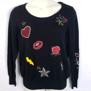 NWOT TORRID Thin Knit Sweater 3 3X Black